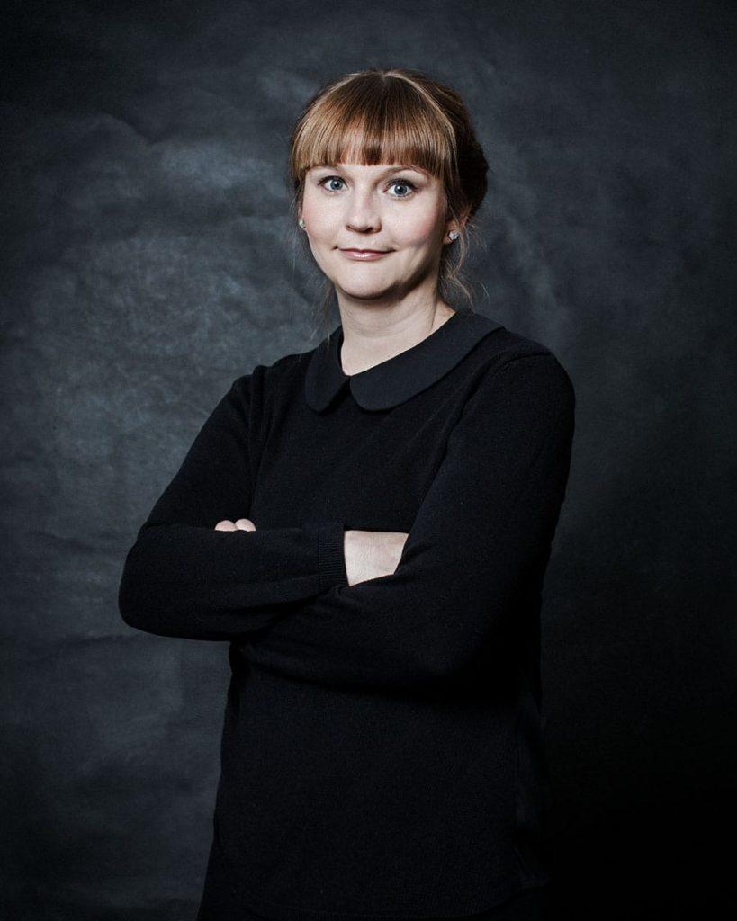 Julia Amelung, Grafikdesignerin bei HASEGOLD in Osnabrück.