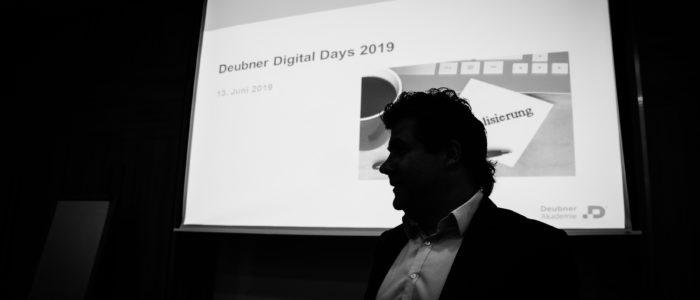 Wewers referiert auf den Deubner Digital Days