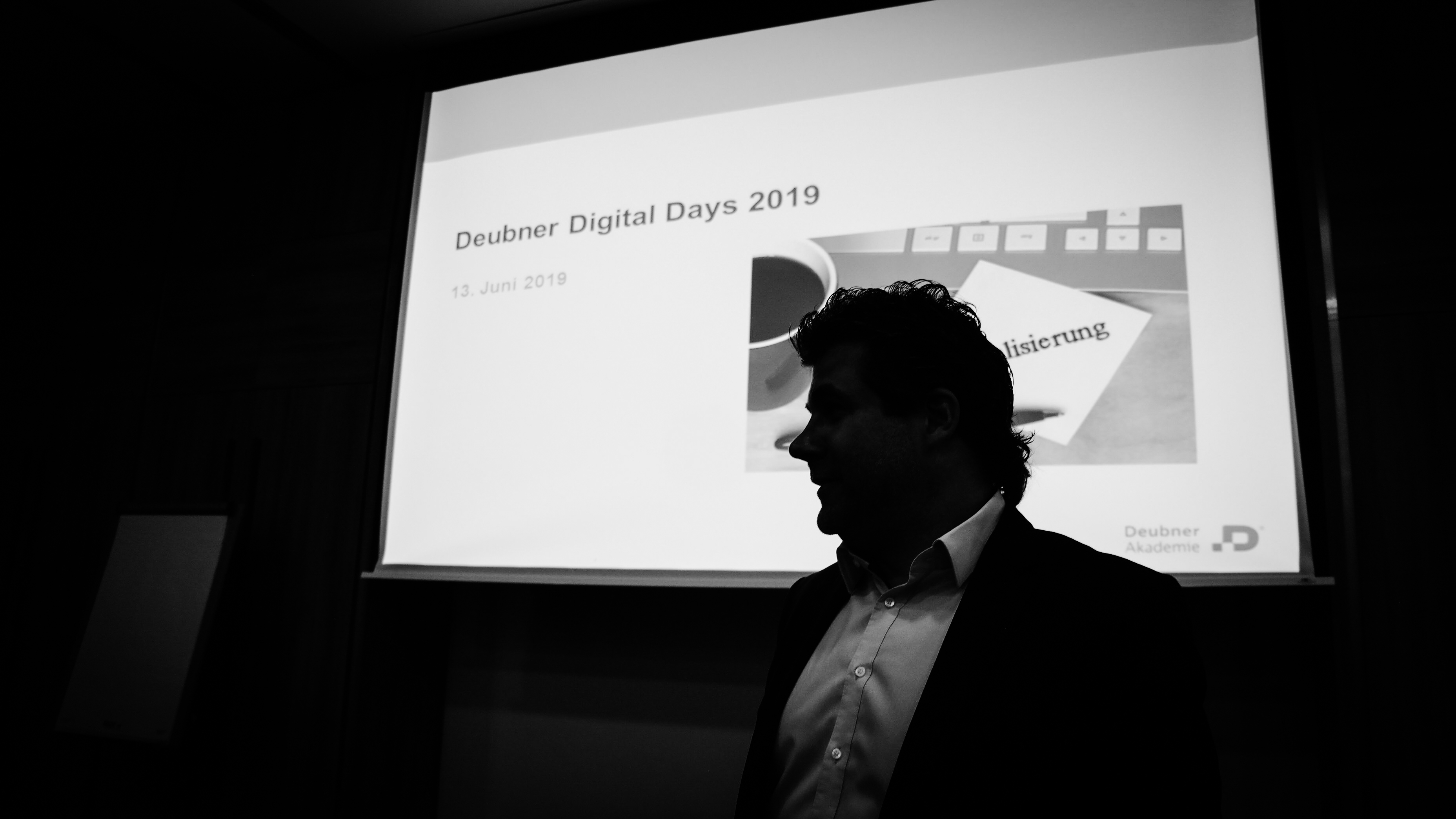 Wewers referiert auf den Deubner Digital Days